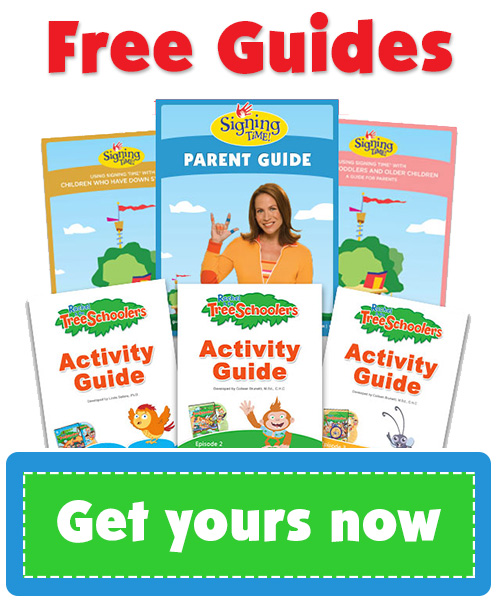Baby Sign Language, Signing Time Free Guides